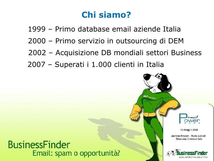 Email Power 2008 - Businessfinder