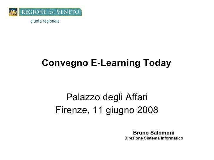 Presentazione Salomoni Firenze