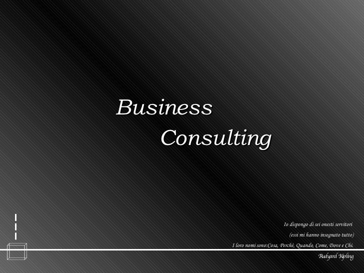 marketing & business consultant