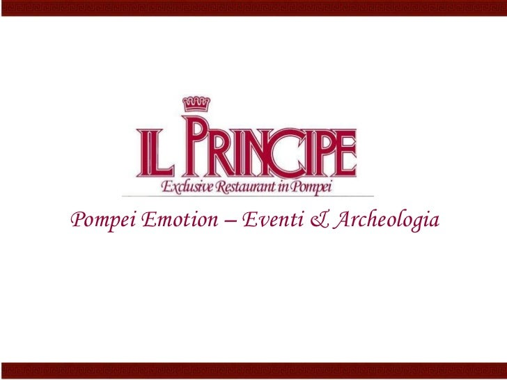 Pompei Emotion – Eventi & Archeologia