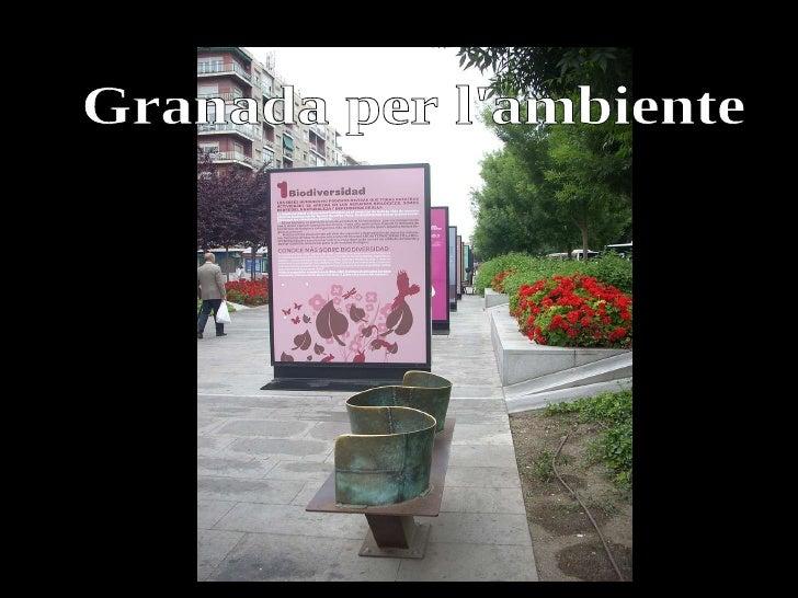 Granada per l'ambiente