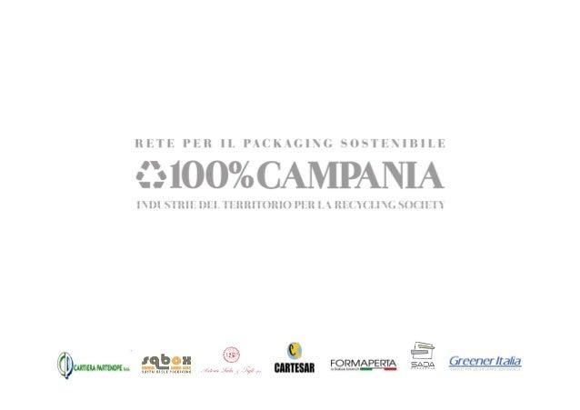 Rete per il Packaging Sostenibile: 100%Campania