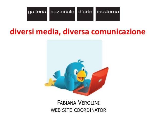 Museo facile: diversi media, diversa comunicazione