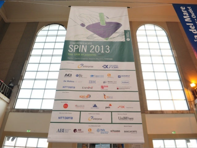 Spin 2013 - Your SPIN on payments