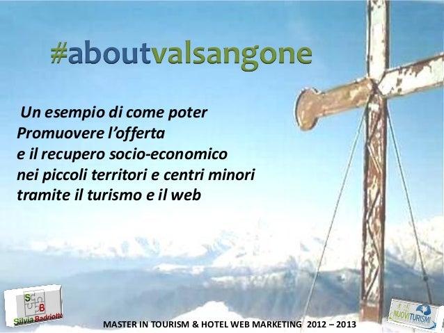 Presentazione Progetto #aboutvalsangone