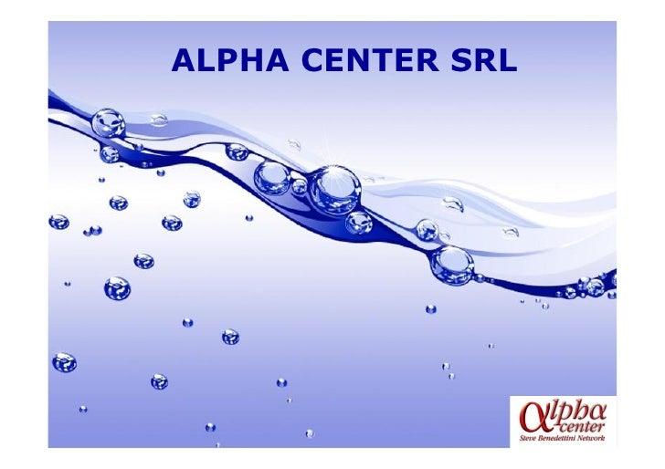 Presentazione Alpha Center