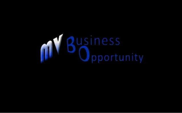 Presentazione Opportunità Mv