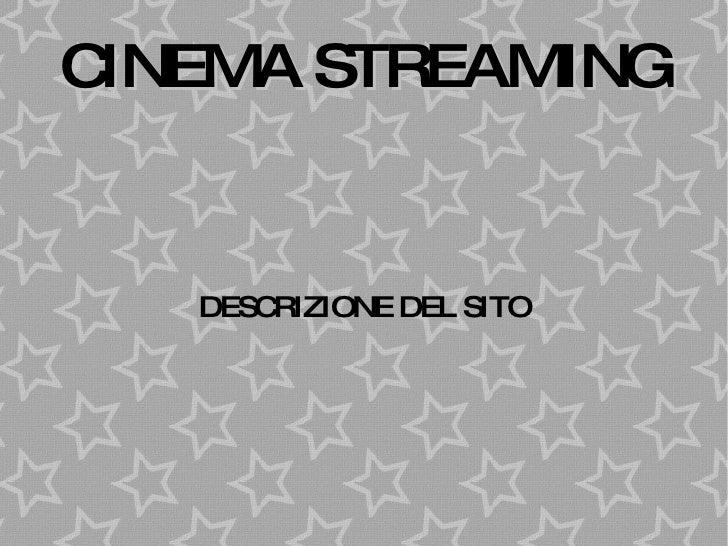 Progetto Cinema Streaming