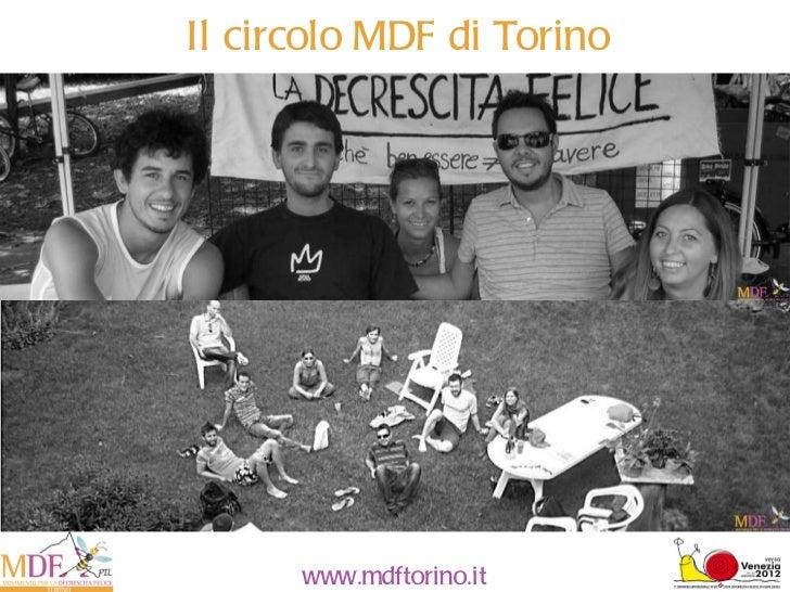 Presentazione circolo Movimento decrescita felice di Torino
