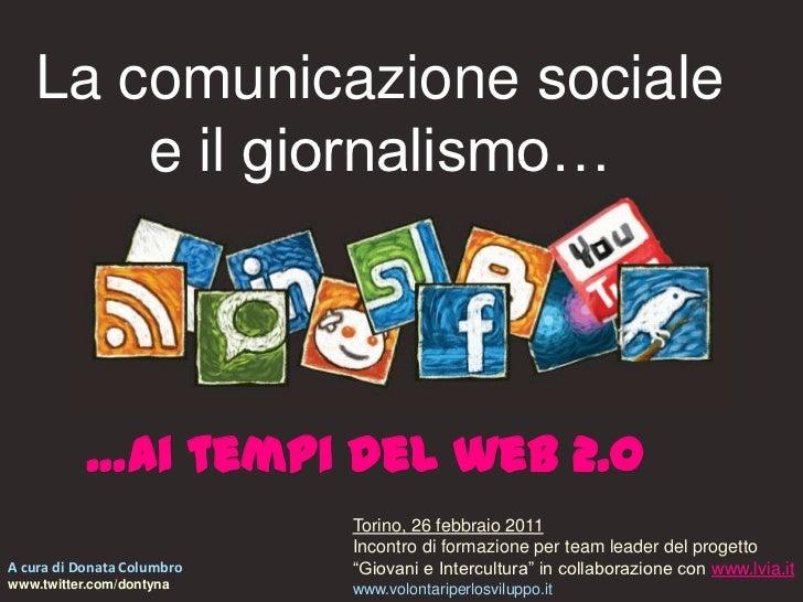 Citizen Journalism e comunicazione sociale