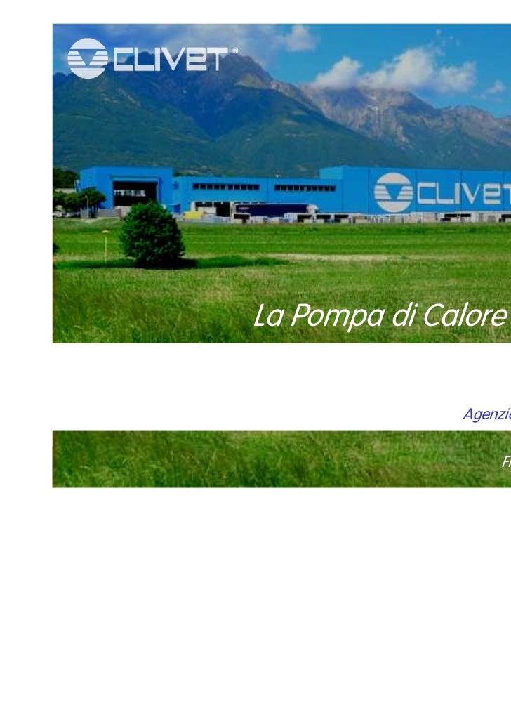Presentazione clivet   13 gennaio 2012(1)