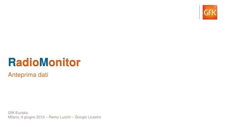 Presentazione conferenza stampa_radio_monitor