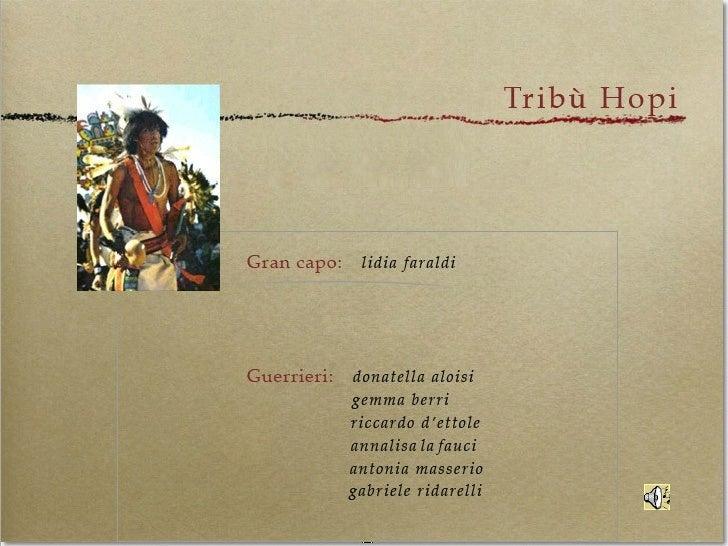 Master UniTuscia-Gruppo Hopi