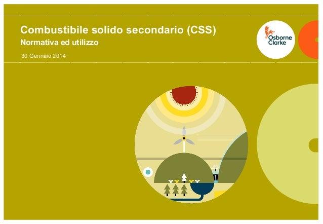 Combustibile solido secondario (CSS)