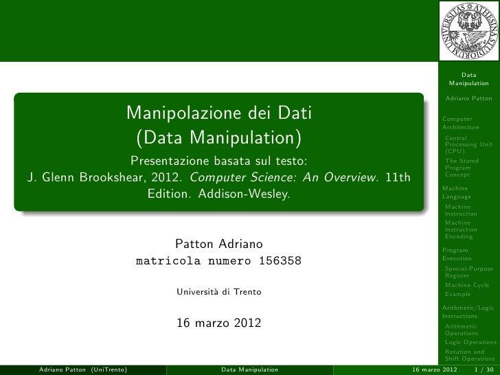 Data                                                                           Manipulation                               ...