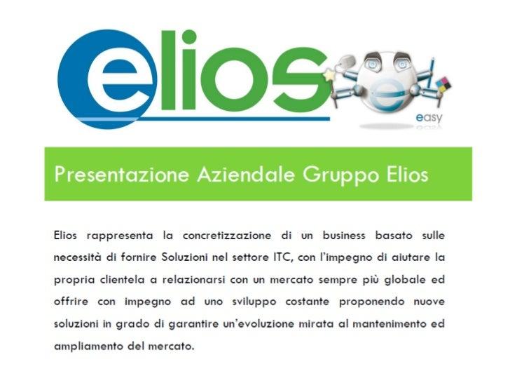 E-commerce:www.eliosnet.com   -Shop cancelleria                   -Shop informatica