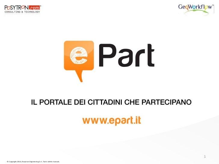 Presentazione ePart