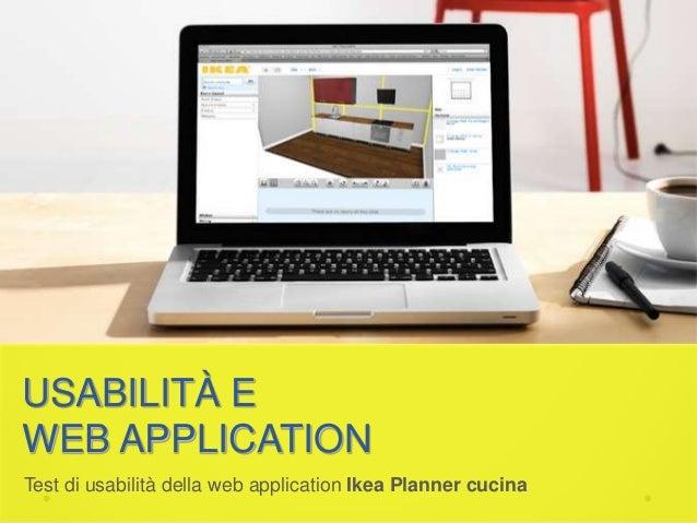 Test di usabilit dell 39 applicazione web ikea planner cucina for Planner ikea cucina