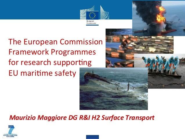 ARGOMARINE final conference - EU presentation - Maurizio Maggiore