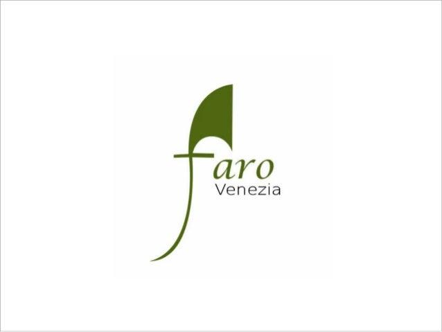 Presentazione di Faro Venezia