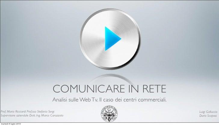 Presentazione Galluccio Scopesi - Politecnico di Torino
