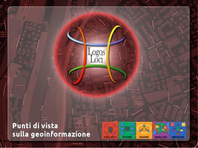 GeoinformazioneDal 60 all'80 per cento di tutte le decisioni prese nella vita politica,economica e privata hanno un riferi...