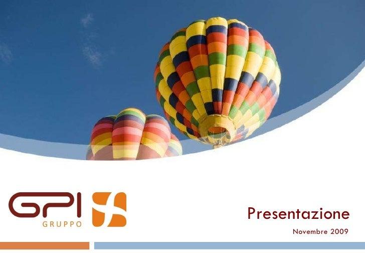 Presentazione gruppo gpi 2009 11_it