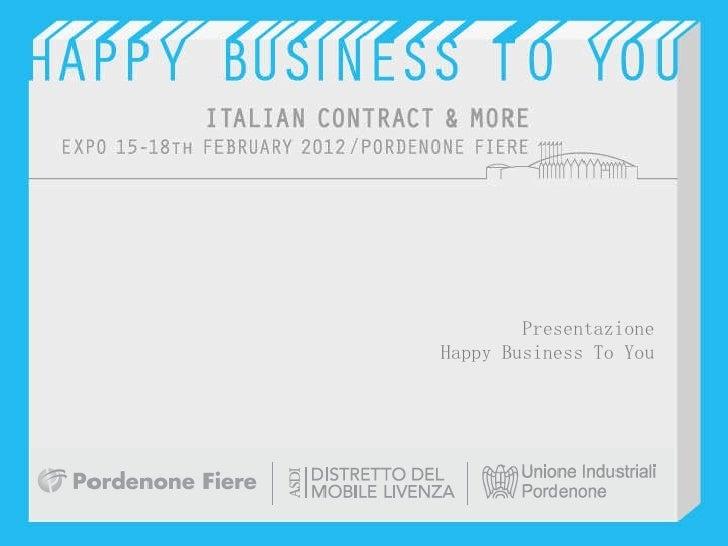 HappyBusinessToYou - italian contract &more