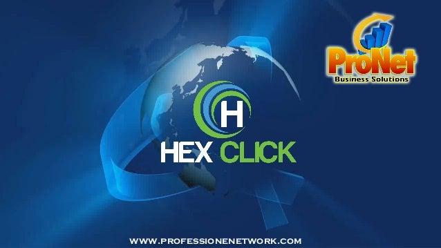 HEXCLICK - Presentazione Ufficiale -  Professione Network