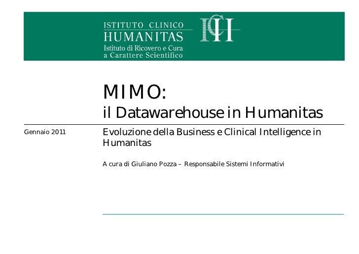 Presentazione humanitas ab2 febbraio2011