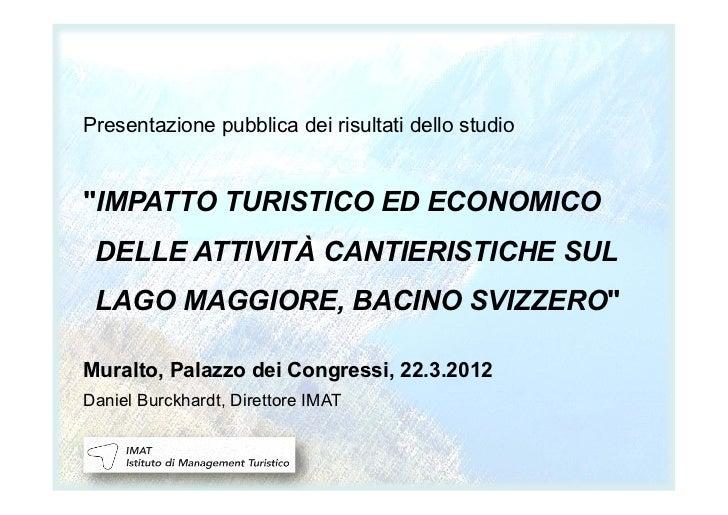 Presentazione IMAT cantieri 22.03.2012