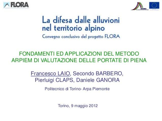 Valutazione_Piene_2012 (FLORA)