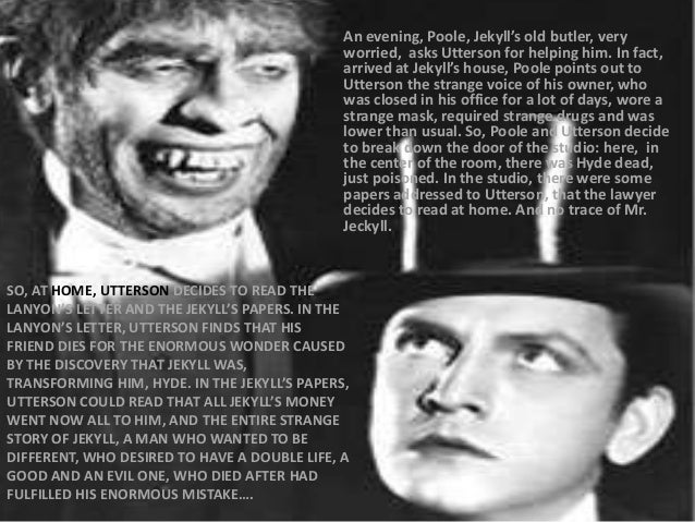 the picture of dorian gray and dr jekyll and mr hyde essay The novel the strange case of dr jekyll and mr hyde was written by robert l stevenson and first published in 1886 the years from 1837 to 1901 are considered the victorian era, so the novel is considered a victorian novel dorian gray by oscar wilde is written in the same era as dr jekyll and is a .