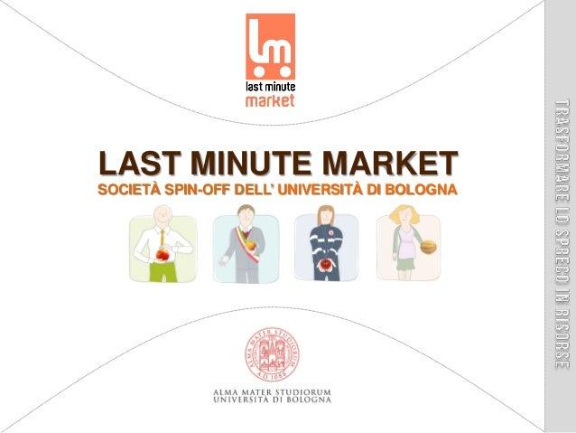 Presentazione Last Minute Market | Giugno 2013