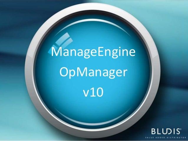 ManageEngine OpManager    v10