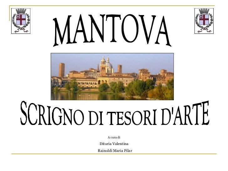 Presentazione Città di Mantova