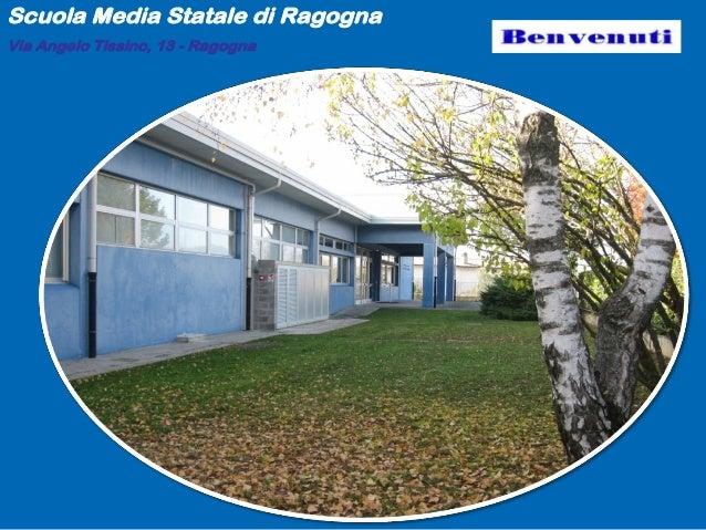 Presentazione medie ragogna 2013-14