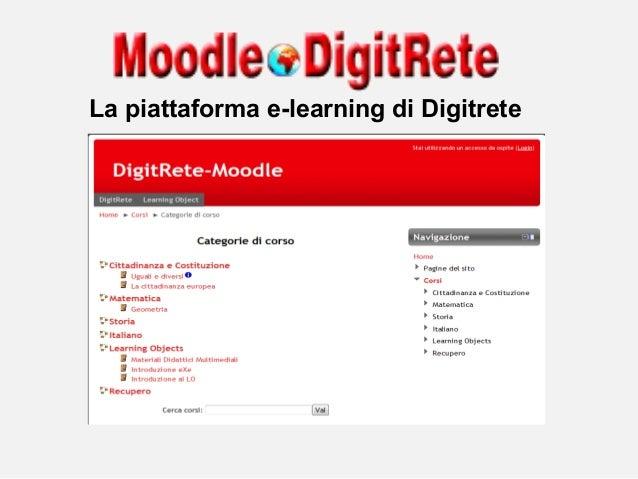 La piattaforma e-learning di Digitrete