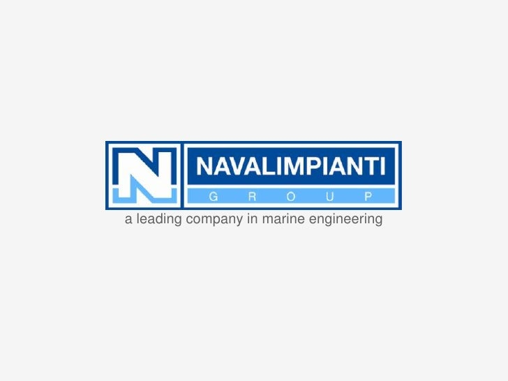 a leading company in marine engineering
