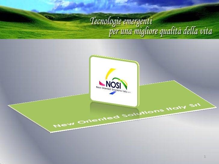 Presentazione Nosi It Con Telemedicina 2011 05 05