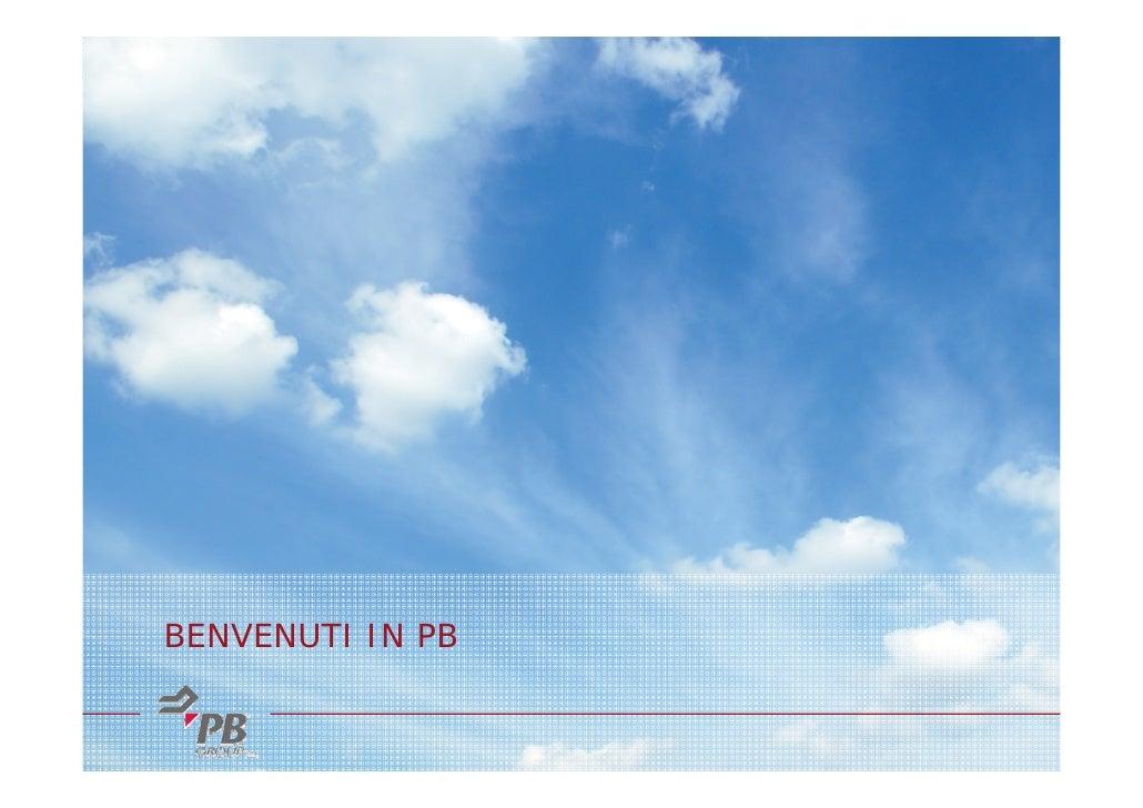 Presentazione PB Group