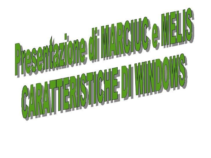 Cosè e quali sono i sistemi operativi;Interfaccia grafica di Windows;Login e Task Manager;Desktop, cartelle e file;Proprie...