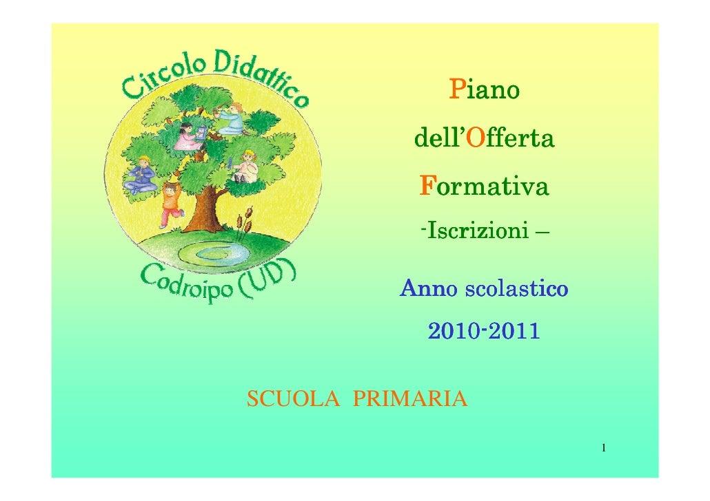 Piano           dell'           dell'Offerta           Formativa           -Iscrizioni –            Iscrizioni          An...