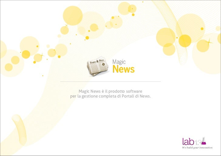 Magic News Portal