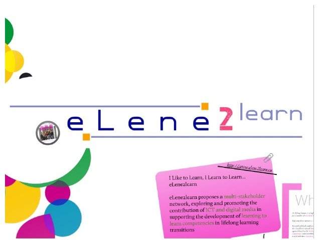 elearn2learn project explained
