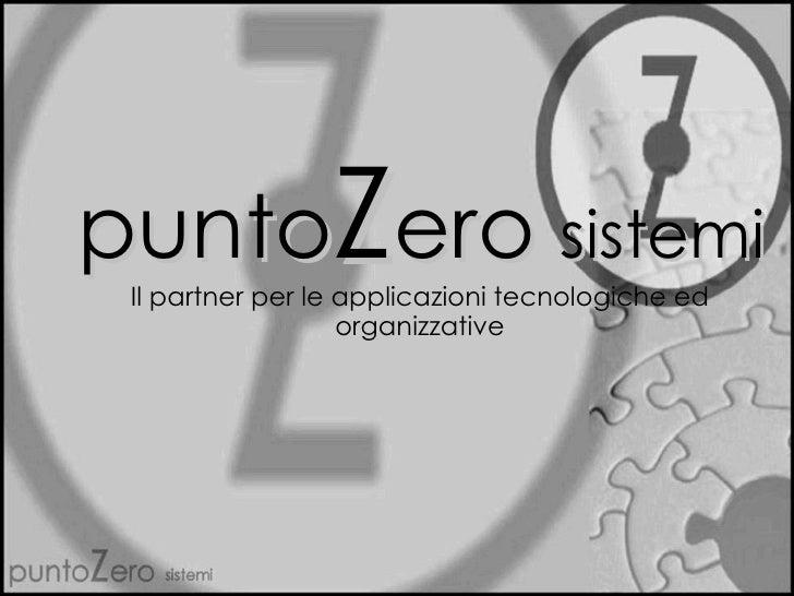 PuntoZero sistemi