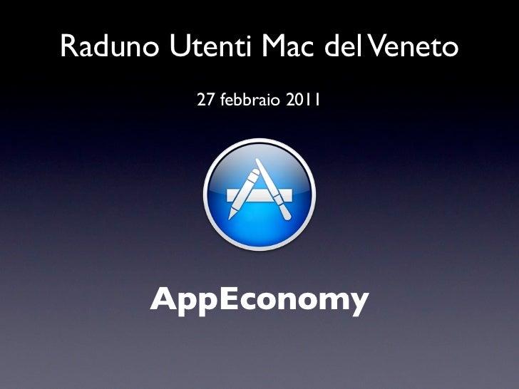 Raduno Utenti Mac del Veneto         27 febbraio 2011      AppEconomy