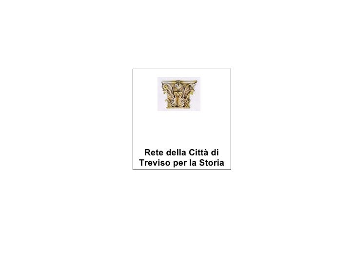 Rete della Città di Treviso per la Storia