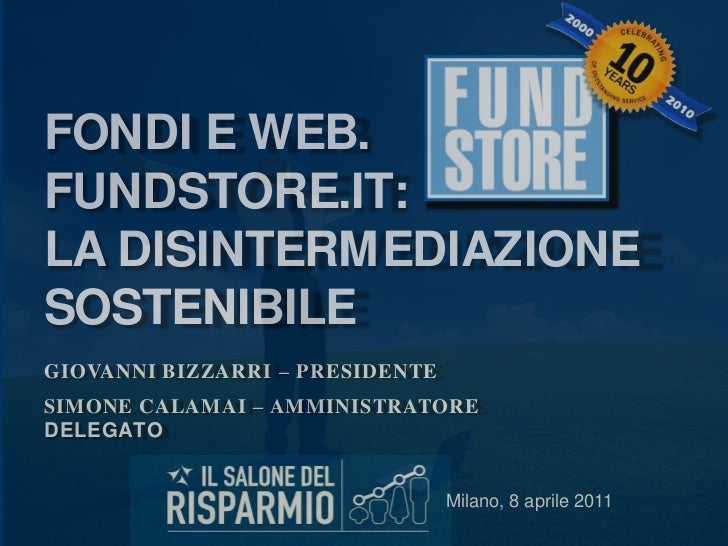 Fundstore.it - Salone del Risparmio 2011