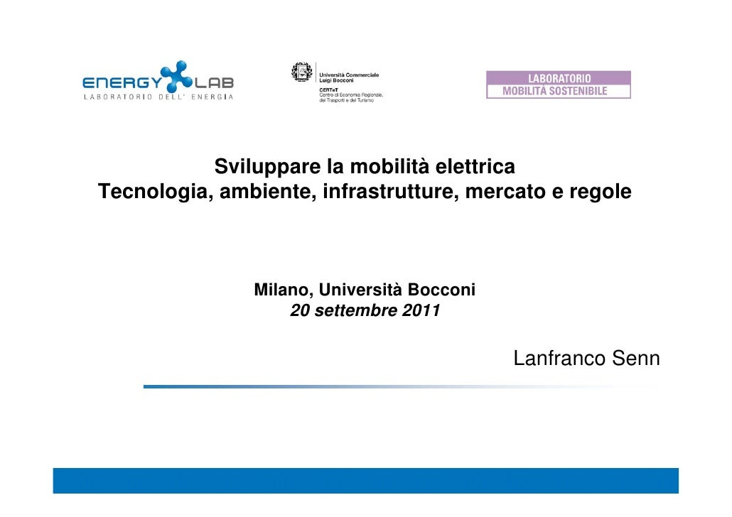 Presentazione Lanfranco Senn